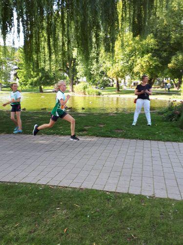 Schülerlauf im Rahmen des 21. Bad Hersfelder Lollslaufs