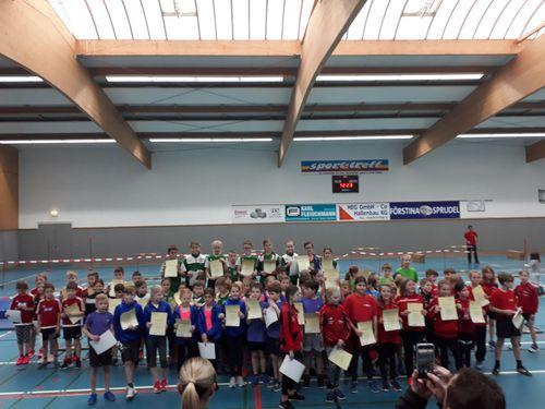 Die Hallen-Kreismeister in den Altersklassen U12 und U10 in der Kinderleichatheltik stehen fest
