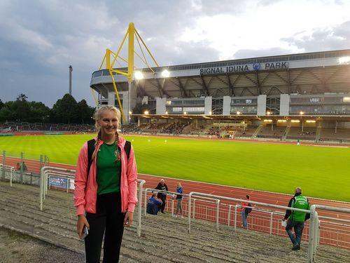 Maja Severloh vom Hünfelder SV mit Bestzeit zur DM-Quali