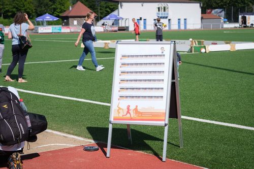 Sportabzeichen-Aktionstag am Donnerstag, 2. September von 15:00 bis 19:00 Uhr in Hünfeld auf der Rhönkampfbahn
