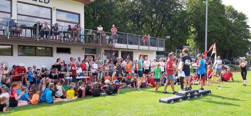 102. Rhönturnfest des Turngaus Fulda-Werra-Rhön auf dem Sportgelände der SKG Gersfeld