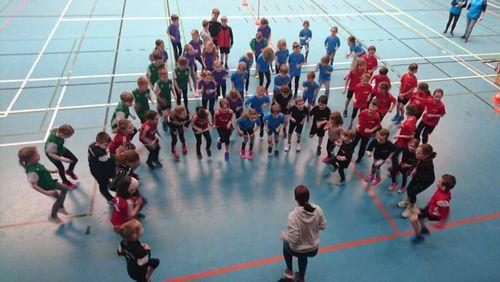 Kinderleichtahletik - Kreishallenmeisterschaften der Altersklassen U10 und U12