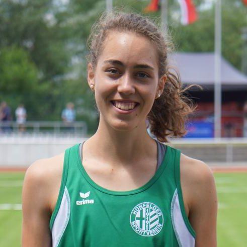 Eva Jansohn vom Hünfelder SV läuft Norm für die Deutschen Hallenmeisterschaften der Aktiven