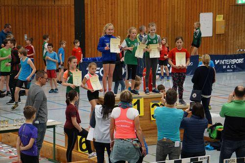 """""""Kreis-Hallenmeisterschaften"""" am 08.03.2020 in Neuhof"""
