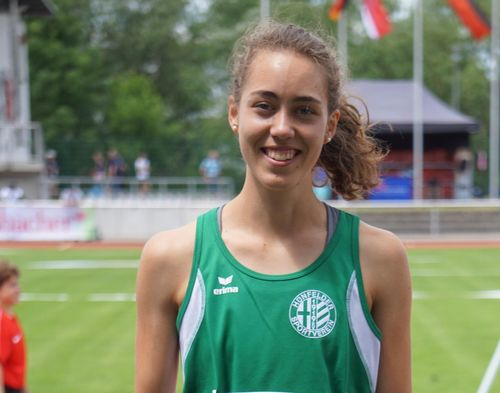 2020 Big Ten Indoor Track and Field Championships, Geneva, Ohio; Eva Jansohn läuft die 800m in 2:10,69 Minuten / Zwei in der Deutschen Hallen-Bestenliste