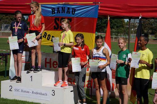 Hessische Straßenlaufmeisterschaften in Rodenbach