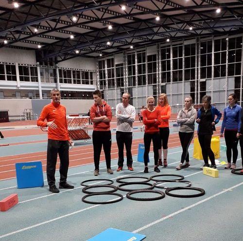 Der Hünfelder SV investieren in die Zukunft - 5 Mitglieder der Leichtathletikabteilung absolvieren eine Trainerassistenzausbildung